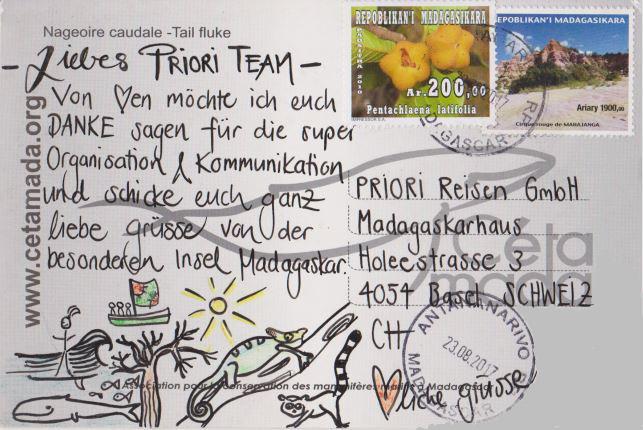 Postkarte Madagaskar