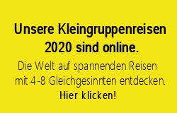 PRIORI Reisen Kleingruppenreisen 2020